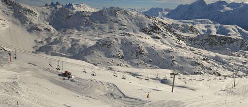 alpe d huez ski novembre 2014