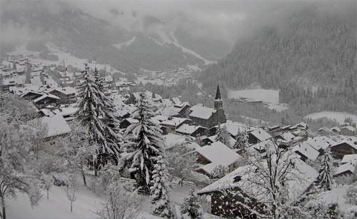 neige chatel 20 janvier 2015