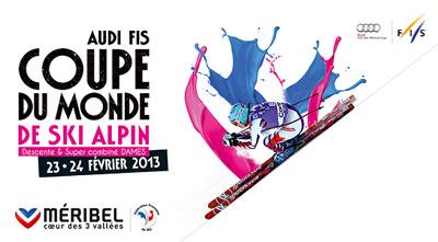 coupe du monde de ski méribel 23 et 24 février 2013