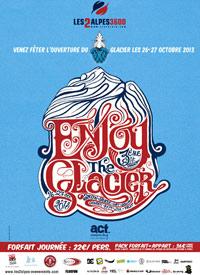 enjoy the glacier 2013 Les deux alpes