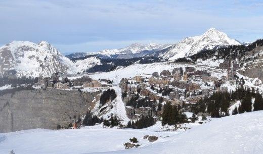 enneigement stations alpes 28 janvier 2017