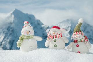 enneigement des stations de ski en france - hauteurs de neige