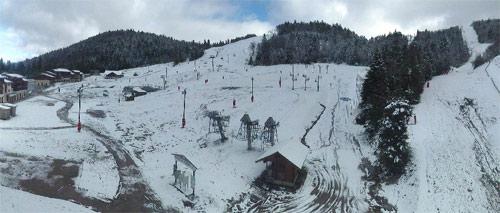 la bresse neige 10 novembre 2013
