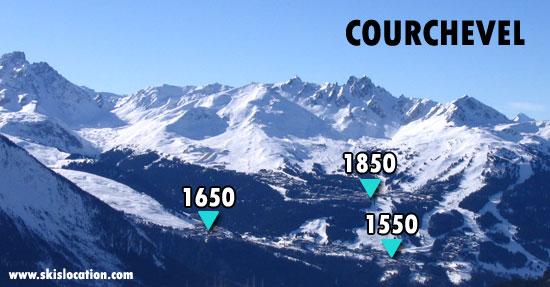 location ski courchevel 3 vallées