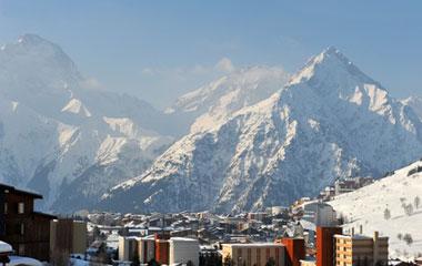 location matériel ski pas cher dans la station des deux alpes