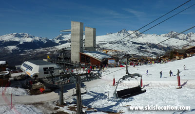location ski peisey