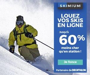 location de skis skimium