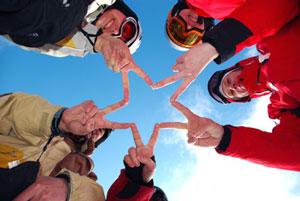 louer des skis aux gets pour toute la famille