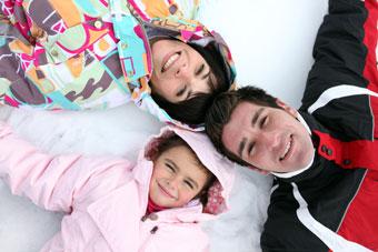 louer des skis à risoul pour toute la famille