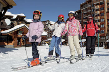 magasins de location de ski à avoriaz