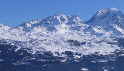 magasins de location de ski à Arc 1800