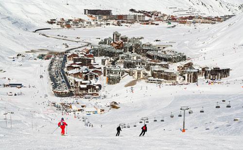 magasins location de ski à Tignes