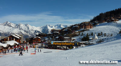 location ski vallandry