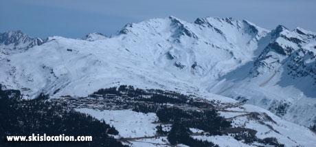 magasins de location de ski à la rosière