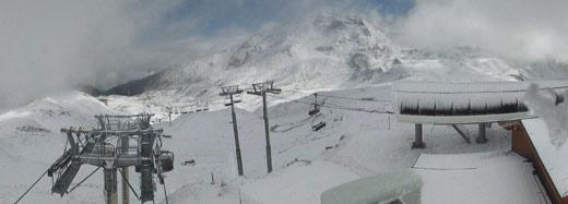 neige les arcs 2000