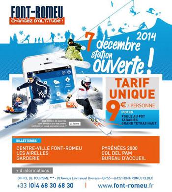 ouverture font romeu 7 decembre 2014