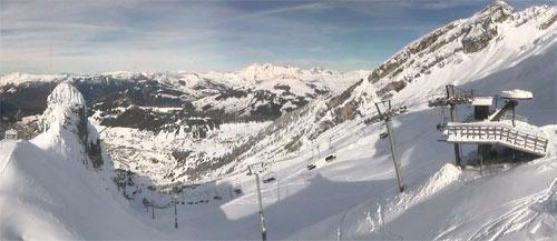 ouverture ski la clusaz novembre 2014