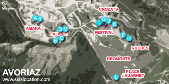 plan avoriaz station magasins skiset