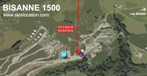 plan bisanne 1500 station de ski