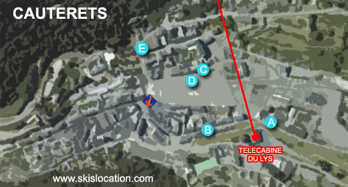 plan de Cauterets station de ski