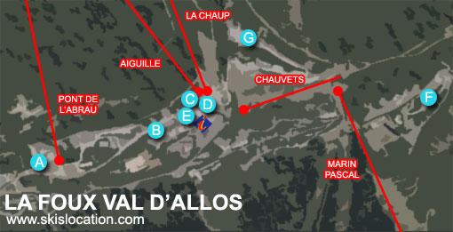 plan foux d'allos station de ski espace lumière