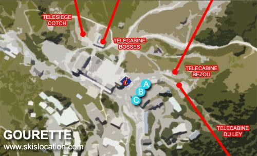 plan gourette station de ski des pyrénées