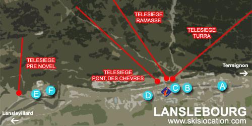 plan lanslebourg valcenis station de ski