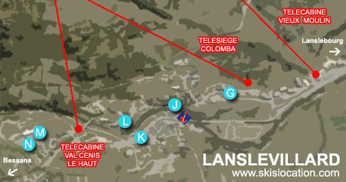 plan lanslevillard valcenis location de ski