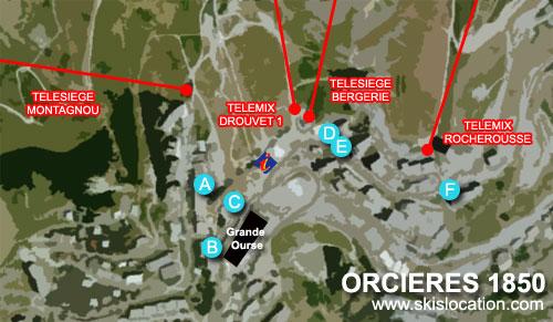 Location ski orci res merlette sport 2000 skiset skimium - Office du tourisme orcieres merlette ...