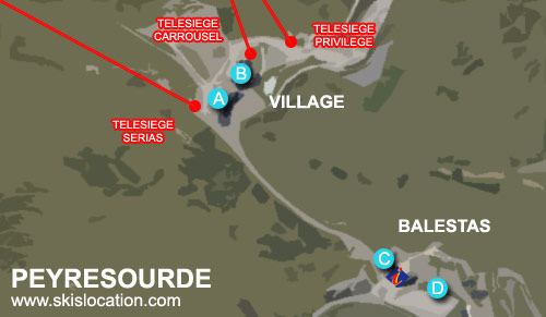 plan peyresourde balestas station ski