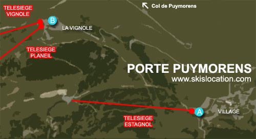 plan porte puymorens station de ski des pyrénées