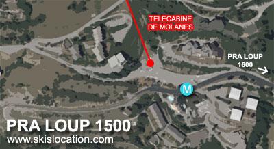 plan pra loup 1500 molanes station ski