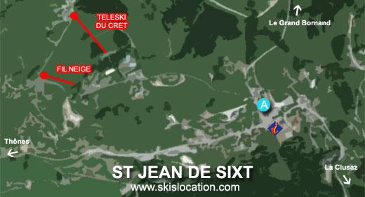 plan saint jean de sixt