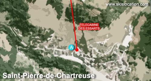 plan saint pierre de chartreuse station de ski