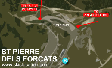 plan saint pierre dels forcats station ski