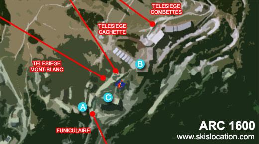 plan station arc 1600 location skis