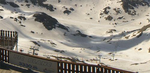 ski alpe d'huez été 2013