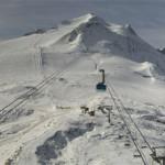 ski octobre 2014 à Tignes