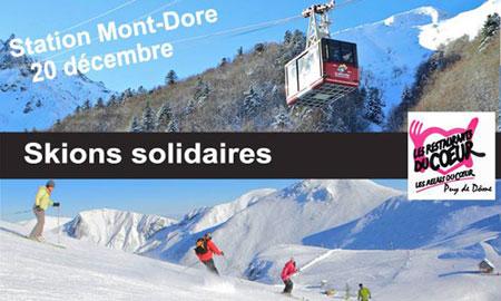 ski solidaire mont dore 20 décembre 2013