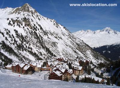 Les Arcs 1950 photo de la station de ski en hiver