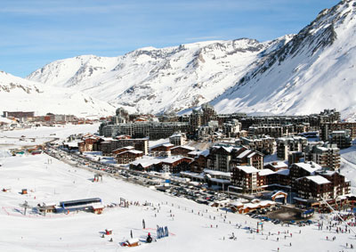 louer ski et snowboard dans la station de ski de tignes val claret