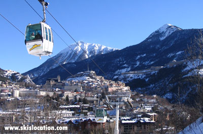 location ski briancon