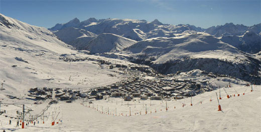webcam alpe d'huez 23 février 2014